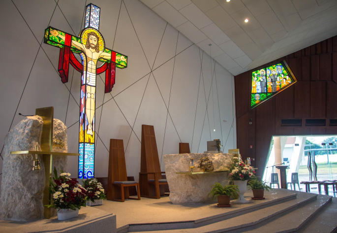 Oratory of St. Francis Xavier at Xavier School Nuvali